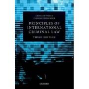 Principles of International Criminal Law by Gerhard Werle