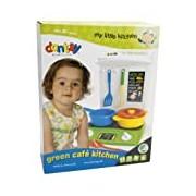 Dantoy My Little Kitchen Cafe Set (8 Pieces, Green)
