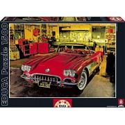 Educa - 16004 - Puzzle Classique - Garage Vintage - 1500 Pièces