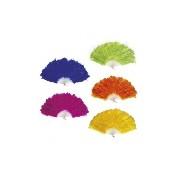 Toll legyező (kék,lila,piros,zöld,s