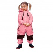 Muddy Buddy All in one Rainsuit Coverall Pink 12mths / 9kg TUFFO