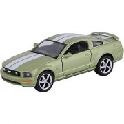 Kinsmart Die-Cast Metal 2006 Ford Mustang Gt Sports (Green)