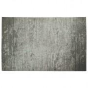 Alfombra gris acrílico-algodón 155x230 STONE - Miliboo