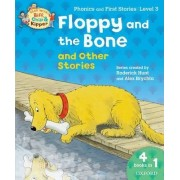 Oxford Reading Tree Read With Biff, Chip, and Kipper: Floppy and the Bone and Other Stories (Level 3) by Roderick Hunt
