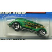 Hot Wheels Hot Rod Magazine #4 of 4 Cars '33 Ford Roadster with 5 Spoke Wheels by Hot Wheels