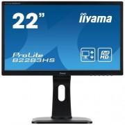 Monitor iiyama B2283HS-B1, 22'', LCD, 2ms, PIVOT, HAS, repro