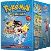 Pokemon Adventures Red & Blue Box Set: Set Includes Vol. 1-7 by Hidenori Kusaka