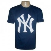 Camiseta New York Yankees Baseball Azul Marinho