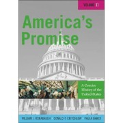 America's Promise: v. 2 by W. J. Rorabaugh