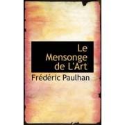 Le Mensonge de L'Art by Frederic Guillaume Paulhan