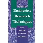 Handbook of Endocrine Research Techniques by Flora de Pablo