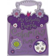 My Perfectly Purple Coloring Purse by Make Believe Ideas