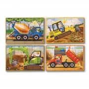 Melissa & Doug Construction Puzzles - 3792