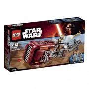 LEGO Star Wars - Rey's Speeder, multicolor (75099)