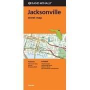 Folded Map Jacksonville, FL by Rand McNally