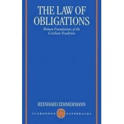 The Law of Obligations by Reinhard Zimmermann