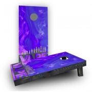 Custom Cornhole Boards Electronic Cigarette and Vape Cornhole Game CCB97