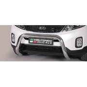 SUPER BAR INOX 76 KIA SORENTO 2012- CE accessoires 4x4 MISUTONIDA