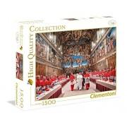 Clementoni - Puzzle de 1500 piezas, High Quality, diseño Papa Francisco (315987)