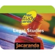 Hsc Study Cards Legal Studies by Chapman