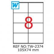 Etichete A4 , 105 x 74mm , Set 100 buc