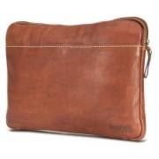"""Brando Aqua Leather Laptop Sleeve 13"""""""