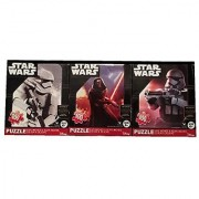 Star Wars The Force Awakens First Order Set of Three Puzzles (100 Piece Puzzle)