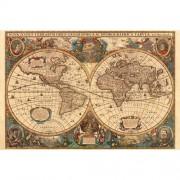 Puzzle harta antica a lumii, 5000 piese, RAVENSBURGER Puzzle Adulti