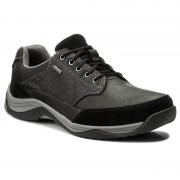 Обувки CLARKS - Baystonego Gtx GORE-TEX 261192837 Black Leather