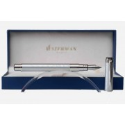 Waterman - Perspective: Stylo Plume Décor Argent Ct, Plume Taille Moyenne