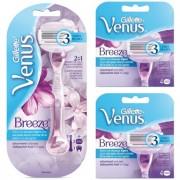 Gillette Combi Venus Breeze Systeem + 8 mesjes