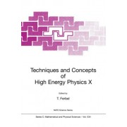 Techniques and Concepts of High Energy Physics: Proceedings of the NATO Advanced Study Institute, St.Croix, US Virgin Islands, June 18-29, 1998 10th by Thomas Ferbel