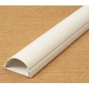 D-Line blanco 1,5Â m (2Â x 75Â cm) 40Â x 20Â 1,5Â meter cable para televisor para ocultar cables dline Trunking