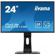 IIYAMA XB2481HS-B1/23,6 LED1080p Dvi Hdmi bk