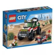 Lego 60115 - lego city fuoristrada 4x4