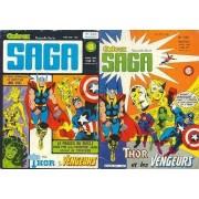 "Ombrax Saga N° 243 ( 10 Avril 1986 ) : "" Bilan "" ( Les Vengeurs / The Avengers + Thor )"