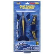 Revell Monogram 1: 100 Escala Snaptite Azul Ángeles F-18 Hornet Modelo Kit