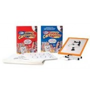 Blitz Ultimate Cartooning Kit [With Instruction Book and Re-Tooner, 50 Re-Tooner Sheets, and Cloth and Two Black Markers]