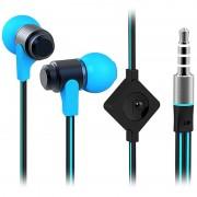 Auriculares Estéreo Wallytech WHF-116 - Azul / Preto