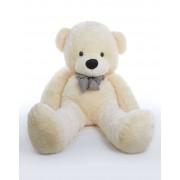 5 Feet Peach Teddy Bear with a Bow