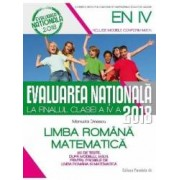 2018 Evaluare Nationala Cls 4 Limba Romana. Matematica - Manuela Dinescu