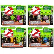 Ghostbusters 2016 Movie Ecto Minis Set of 4 3 Packs Each with Exclusive Figures