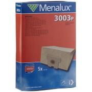 Menalux 3003 P Sacchetti per aspirapolvere, 5 pezzi