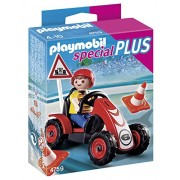 Playmobil 4759 - Set di omino e macchinina da corsa