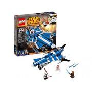 LEGO Star Wars Anakin's Custom Jedi Starfighter 370pieza(s) - juegos de construcción (Película, Cualquier género, Multicolor, Star Wars)
