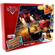 Disney Pixar Cars Tractor Tippin' Track Set with LIGHTNING McQUEEN & FRANK