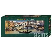 Heye 29736 - Puzzle Vertical, Puente de Rialto verticales 1.000 piezas, la colección de interés, multicolor