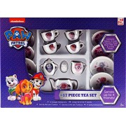 Paw Patrol Girls Skye 17 Piece Ceramic Tea Set Toy ...