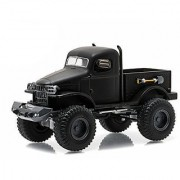 1941 Military 1/2 Ton 4x4 Pick Up Truck Black Bandit 1/64 by Greenlight 27840 A
