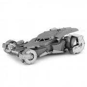 Bricolaje rompecabezas 3D montado superman modelo coche juguetes educativos - plata
